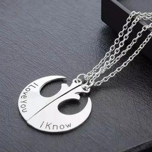 Star Wars Silvertone Necklace